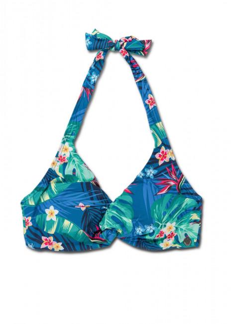 Panos Emporio Escape Daphne bikiniöverdel A-D kupa mönstrad