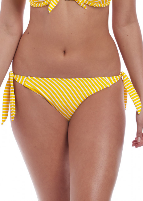 Freya Swim Beach Hut bikiniunderdel med sidknytning XS-XL gul