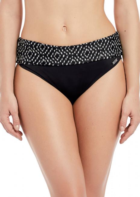 Fantasie Swim Byron Bay Vikbar Brief bikiniunderdel S-XXL Svart