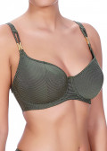 Freya Swim Glam Rock vadderad bikinitopp D-K grön