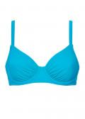 Damella bikiniöverdel med bygel B/C-F/G kupa aqua