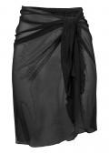 Damella sarong one size svart