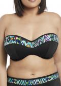 Elomi Swim Tribal Instinct Bandeau Bikiniöverdel E-L kupa mönstrad