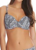 Freya Swim Viper plunge bikiniöverdel D-L kupa grå