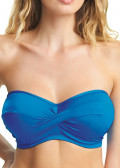 Fantasie Swim Versailles bandeau bikiniöverdel D-H kupa blå