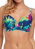Fantasie Swim Amalfi fullkupa bikiniöverdel D-M kupa mönstrad