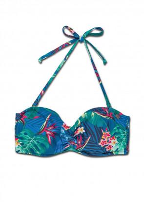 Panos Emporio Escape Anthea bikiniöverdel mönstrad