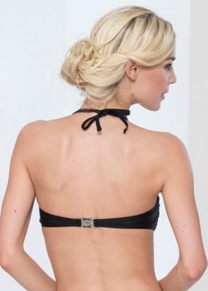 Abecita Alanya bandeau bikinitop A-D kupa svart