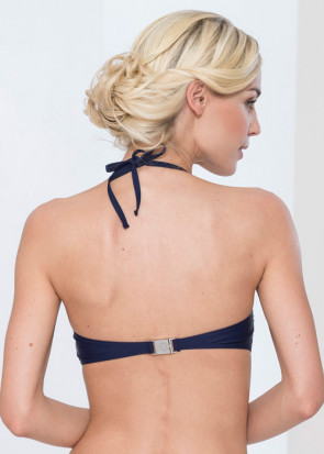 Abecita Alanya bandeau bikinitop A-D kupa navy