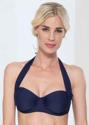 Abecita Alanya halterneck bikinitop B-E kupa navy