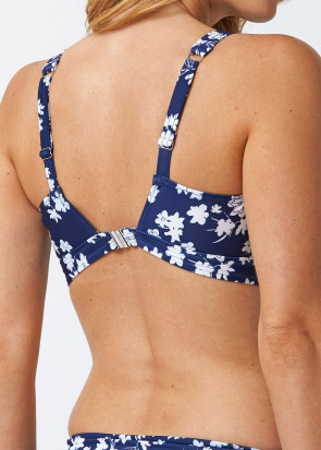 Abecita Blue Flower Kanters Delight bikiniöverdel B/C-D/E kupa navy
