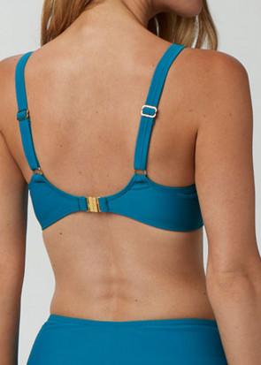 Abecita Twisted Solid bikiniöverdel B-F kupa grön