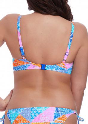 Freya Swim Festival Girl plunge bikiniöverdel D-L kupa mönstrad