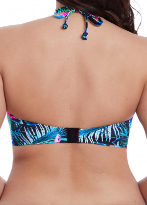 Freya Swim Jungle Flower Bandeau bikiniöverdel C-I kupa mönstrad