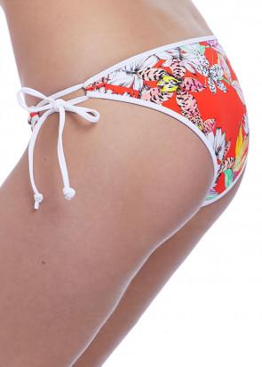 Freya Swim Wild Flower bikiniunderdel med sidknytning XS-XL mönstrad