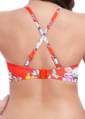 Freya Swim Wild Flower bikiniöverdel bandeau D-I kupa mönstrad