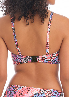 Freya Swim Serengeti Haze bikiniöverdel bandeau D-I kupa mönstrad