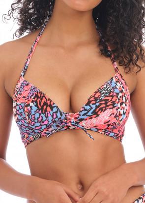 Freya Swim Serengeti Haze bikiniöverdel C-H kupa mönstrad