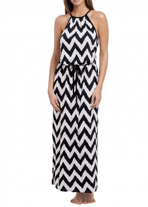 Freya Swim Making Waves Maxi Dress S-XL mönstrad
