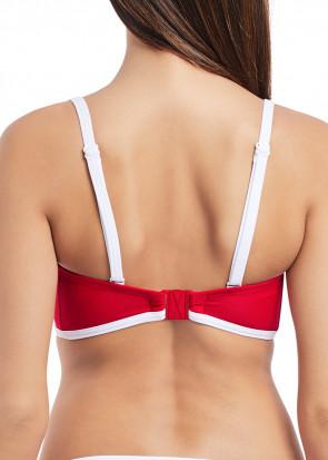 Freya Swim Paint The Town bikiniöverdel bandeau B-I kupa röd