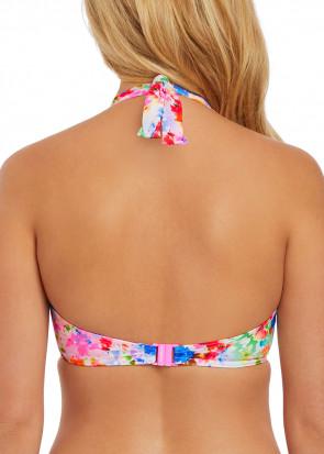 Freya Swim Endless Summer bikiniöverdel halter C-K kupa mönstrad
