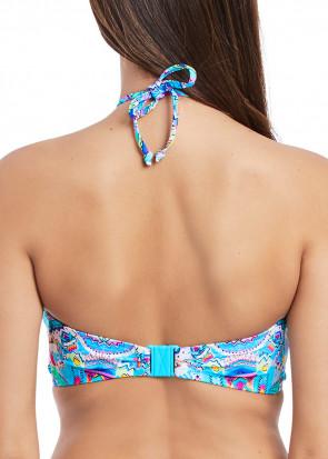 Freya Swim New Native bandeau bikiniöverdel C-I kupa mönstrad