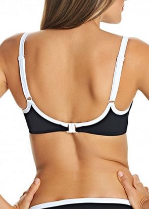 Freya Swim Back To Black formpressad bikiniöverdel C-J kupa svart