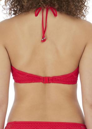 Freya Swim Sundance halterneck bikiniöverdel C-H-kupa röd