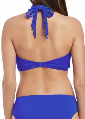 Freya Swim Macrame Bandeau Bikiniöverdel B-I kupa Blå