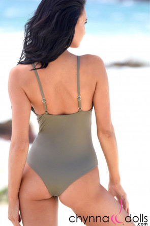 Seville One Piece with Cutout Details