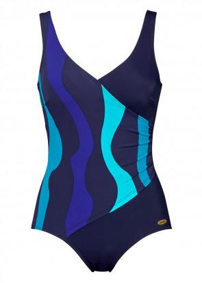 Damella baddräkt 36-54 royalblå