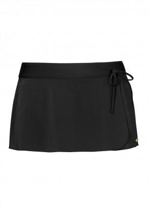 Damella bikiniunderdel med kjol 36-48 svart