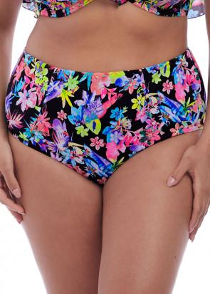 Elomi Swim Electroflower bikiniunderdel classic brief 42-52 mönstrad