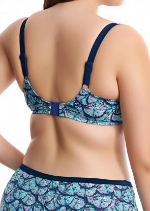 Elomi Swim Abalone Bikiniöverdel E-M Kupa mönstrad