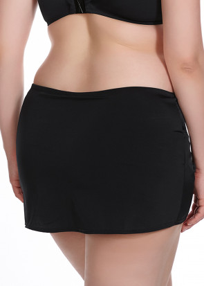 Elomi Essentials Skirted Brief 42-52 svart