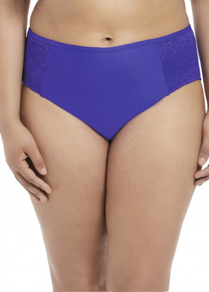 Elomi Swim Indie Mid Rise Brief 42-52 blå
