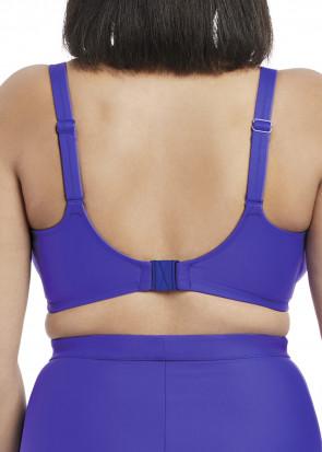 Elomi Swim Indie Multiway Plunge Bikiniöverdel E-L kupa blå