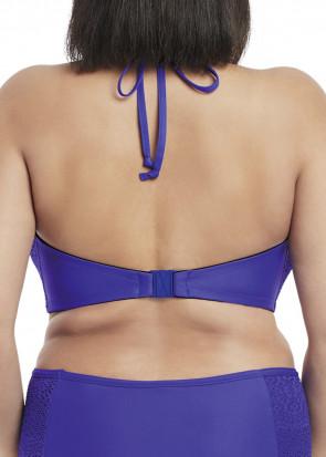 Elomi Swim Indie High Neck Bandeau Bikiniöverdel E-L kupa blå