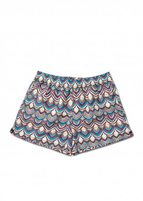 Panos Emporio Ethnic Lucca shorts 38-46 mönstrad