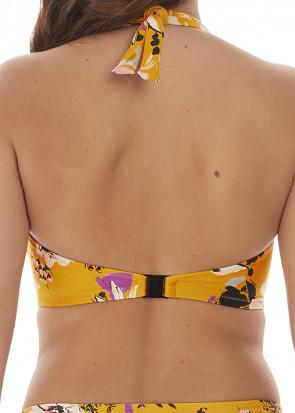 Fantasie Swim Florida Keys bikiniöverdel halterneck D-K-kupa gul