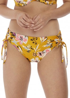 Fantasie Swim Florida Keys bikiniunderdel snörning XS-XL gul