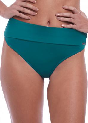 Fantasie Swim Marseille bikiniunderdel med vikbar kant S-XXL grön