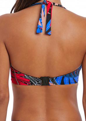 Fantasie Swim Monte Cristi bikiniöverdel bandeau D-I kupa mönstrad
