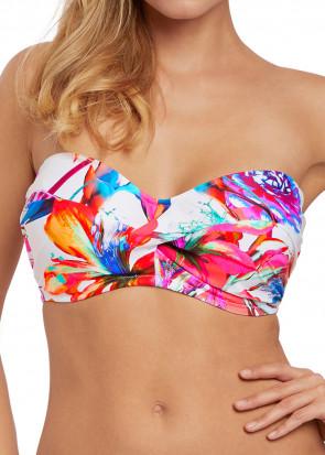 Fantasie Swim Paradise Bay bikiniöverdel bandeau D-I kupa multi