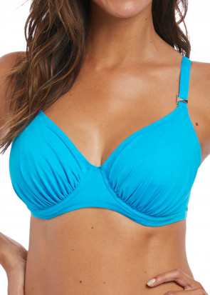 Fantasie Swim Paradise Bay bikiniöverdel med bygel D-K kupa aqua
