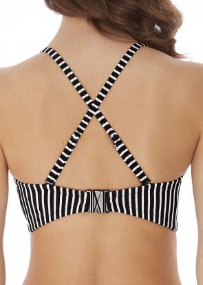 Freya Swim Beach Hut bikiniöverdel bandeau D-I-kupa svart
