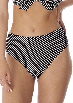 Freya Swim Beach Hut bikiniunderdel hög skärning XS-XXL svart