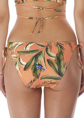Freya Swim Birds In Paradise bikiniunderdel sidknytning XS-XL mönstrad