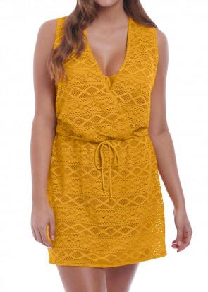 Freya Swim Sundance strandklänning S-L gul