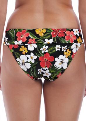 Freya Swim Tiki Bar bikiniunderdel med vikbar kant XS-XXL mönstrad